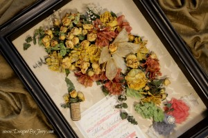 Cascade Bride's Bouquet Preserved