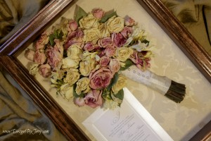Pink and Cream Roses with Freesia