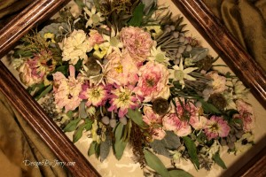 Cascade Wedding Bouquet Preserved