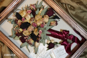 Preserved Bridal Bouquet Huntsville Alabama.
