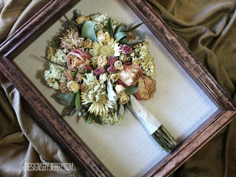 Mixed Summer Garden Bouquet Preserved @ Preserved Bridal Bouquets ...
